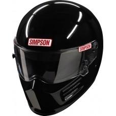 Simpson SA2020 Bandit Racing Helmet - Gloss Black