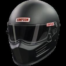 Simpson SA2020 Bandit Racing Helmet - Matte Black