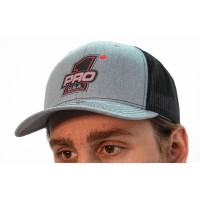 Heather Gray PRO 1 Hat