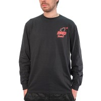 Black PRO 1 Long Sleeve Tee
