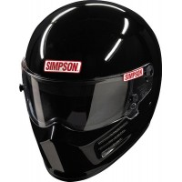 Simpson SA2020 Bandit Racing Helmet - Gloss Black