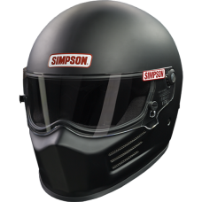 Simpson SA2020 Bandit Racing Helmet - Matte Black