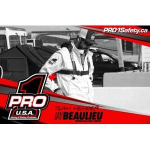 Pro 1 Racing & Safety Products Canada Team member @octanejay got the runner-up finish last Saturday at Piste d'accélération Pont-Rouge Dragway. Jay is repping the new Pro 1 Super Fly White SFI 3.2A/5 Jacket along with Pro Elite Blacked out Seat Belts. Shop our safety products online at www.pro1safety.ca 🇨🇦🏁  Le membre d'équipe Pro 1 Racing & Safety Products Canada @octanejay s'est incliné en grande finale samedi dernier à la Piste d'accélération Pont-Rouge Dragway. Jay porte le nouveau manteau blanc Super Fly SFI 3.2A5 et les ceintures Pro Elite version entièrement noires. Magasine des produits de sécurité en ligne à www.pro1safety.ca 🇨🇦🏁