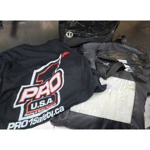 Un beau #SuperFly Jacket avec pantalons SFI-5 et souliers pour notre ami Patrick Peloquin!