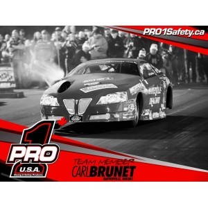 Welcome #TOPGUN Carl Brunet and the world fastest 4-cylinder car to #TeamPro1Canada #TeamPro1 @pro1safety